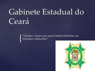 Gabinete Estadual do Ceará