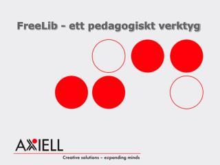 FreeLib - ett pedagogiskt verktyg