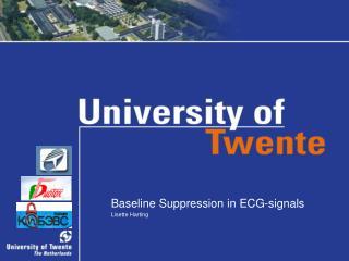Baseline Suppression in ECG-signals