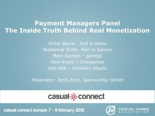 Payment Managers Panel The Inside Truth Behind Real Monetization