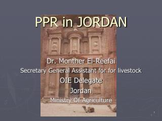 PPR in JORDAN
