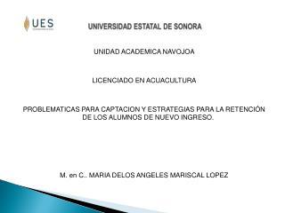 UNIVERSIDAD ESTATAL DE SONORA