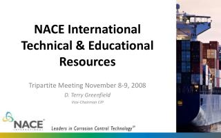 NACE International Technical & Educational Resources