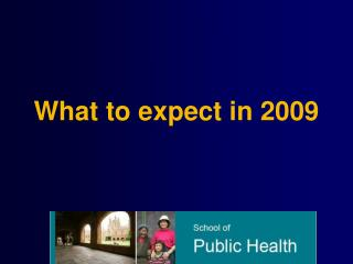 What to expect in 2009
