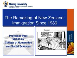The Remaking of New Zealand: Immigration Since 1986
