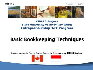 Basic Bookkeeping Techniques