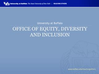 Office of Equity, Diversity and Inclusion