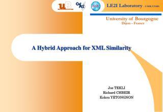 A Hybrid Approach for XML Similarity