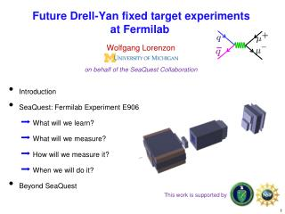 Future Drell-Yan fixed target experiments at Fermilab