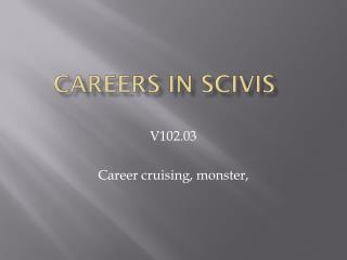 Careers in  SciVis