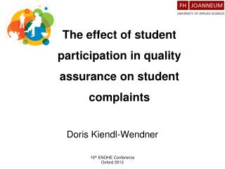 The effect of student participation in quality assurance on student complaints