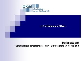 e-Portfolios am BKAL