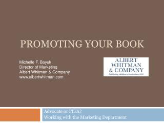 Promoting Your Book