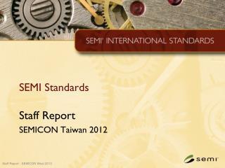 SEMI Standards