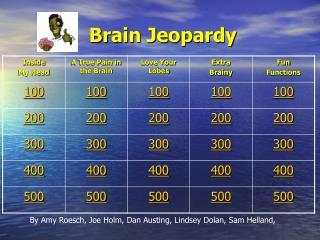 Brain Jeopardy