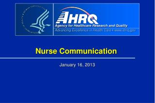 Nurse Communication