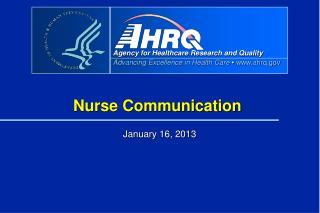 Nurse Communication