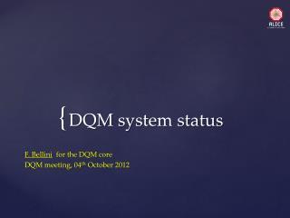 DQM system status