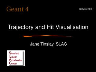 Trajectory and Hit Visualisation