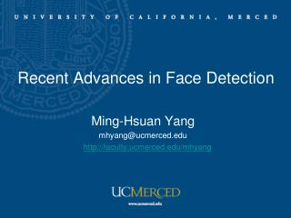 Recent Advances in Face Detection
