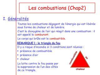 Les combustions (Chap2)