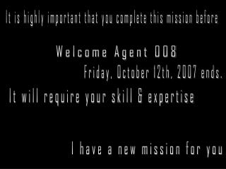 Welcome Agent 008