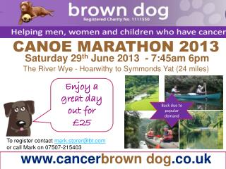 cancer brown dog .co.uk