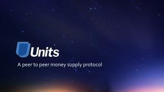A peer  to  peer money  supply  protocol
