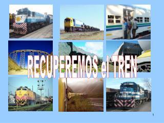 Plan de Recuperacion de los ferrocarriles de la UCR