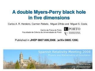 A double Myers-Perry black hole in five dimensions