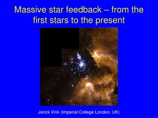 Massive star feedback – from the first stars to the present