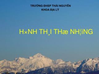 H×NH TH¸I THæ NH¦ìNG