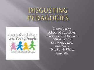 Disgusting Pedagogies