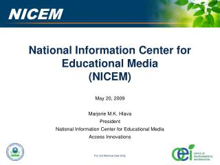 National Information Center for Educational Media (NICEM)