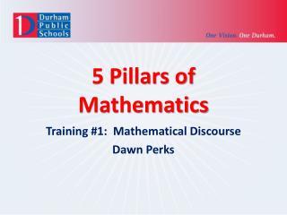 5 Pillars of Mathematics