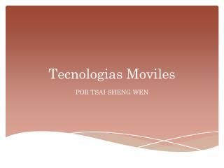 Tecnologias Moviles