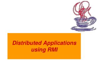 Distributed Applications using RMI