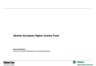 Newton European Higher Income Fund