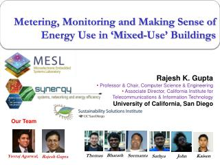 Metering, Monitoring and Making Sense of Energy Use in 'Mixed-Use' Buildings