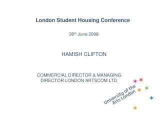 London Student Housing Conference