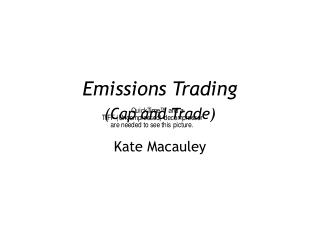 Emissions Trading (Cap and Trade)