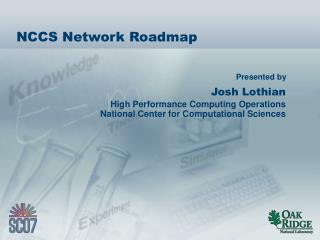 NCCS Network Roadmap