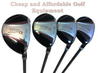 Cheap and Affordable Golf Equipment
