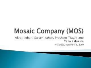 Mosaic Company (MOS)