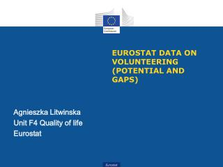 Eurostat  data on volunteering (potential and gaps)