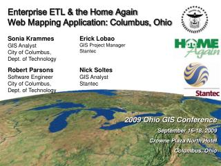 Enterprise ETL & the Home Again  Web Mapping Application: Columbus, Ohio