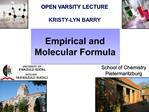 OPEN VARSITY LECTURE  KRISTY-LYN BARRY