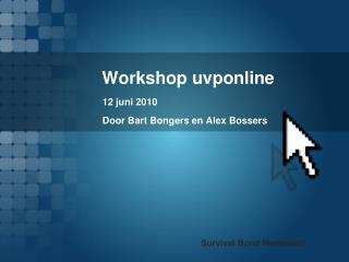 Workshop uvponline