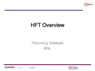 HFT Overview
