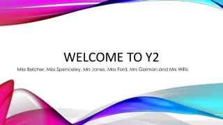 Welcome to Y2